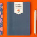 Indigo blossom - Ardium 2020 Flowery dated monthly journal planner