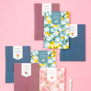 Ardium 2020 Flowery dated monthly journal planner
