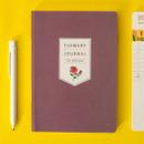 Rose blossom - Ardium 2020 Flowery dated weekly journal planner