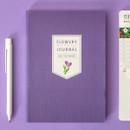 Violet blossom - Ardium 2020 Flowery dated weekly journal planner