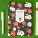 Red flower - Ardium 2020 Flowery dated weekly journal planner