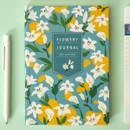 White flower - Ardium 2020 Flowery dated weekly journal planner