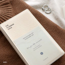 Ivory - ICONIC 2020 Simple small dated weekly planner scheduler
