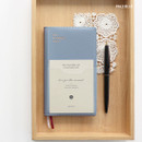Pale blue - ICONIC 2020 Simple small dated weekly planner scheduler