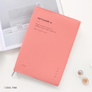 Coral pink - ICONIC 2020 Simple medium dated weekly planner scheduler