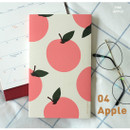 Pink(Apple) - Jam Studio 2020 Dong Dong dated weekly diary planner