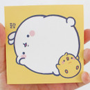 Size - Bookcodi Blooming day with Molang cute memo notepad