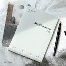 Salt gray - Wanna This 2020 Month classic small dated monthly planner