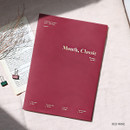 Red wine - Wanna This 2020 Month classic large dated monthly planner