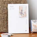 White - Wanna This My 20 illustration medium dated monthly planner