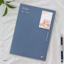 Navy - Wanna This My 20 illustration large dated monthly planner