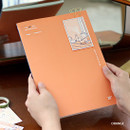 Orange - Wanna This My 20 illustration large dated monthly planner