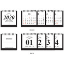 Pages - Wanna This 2020 Classic small spiral bound desk calendar