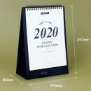Size - Wanna This 2020 Classic stand up desk flip calendar