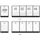 Pages - Wanna This 2020 Classic stand up desk flip calendar