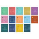 Calendar pages - Jam studio 2020 Welcome standing desk flip calendar
