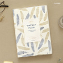 Feather - PAPERIAN Florence dateless weekly diary agenda planner