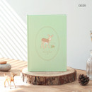 Deer - PAPERIAN From the forest dateless weekly diary planner