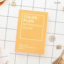 Yellow - PAPERIAN Colorful 2020 dated weekly planner scheduler