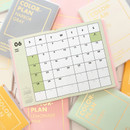PAPERIAN Colorful 2020 dated weekly planner scheduler