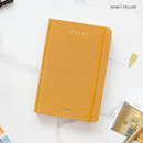 Honey yellow - PAPERIAN 2020 Essay A6 hardcover dated weekly agenda planner