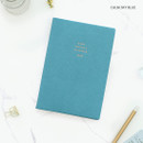 Calm sky blue - PAPERIAN 2020 Edit large dated weekly planner scheduler