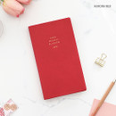 Aurora red - PAPERIAN 2020 Edit small dated weekly planner scheduler