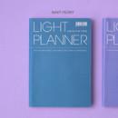 Navy peony - Ardium 2020 Light dated daily planner scheduler