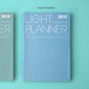 Aqua marin - Ardium 2020 Light dated daily planner scheduler