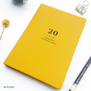 Mustard - O-CHECK 2020 Mon journal A5 dated weekly agenda planner