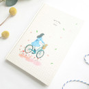 Bicycle - O-CHECK 2020 Shiny days hardcover dated weekly diary planner
