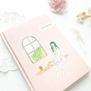 O-CHECK 2020 Shiny days hardcover dated weekly diary planner