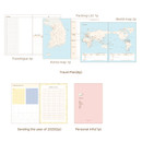 Diary section - O-CHECK 2020 Shiny days hardcover dated weekly diary planner