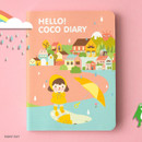 Rainy day - Ardium 2020 Hello coco dated weekly diary planner