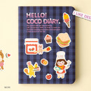 Recipe - Ardium 2020 Hello coco dated weekly diary planner