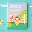Princess - Ardium 2020 Hello little coco dated monthly diary planner
