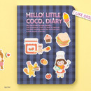 Recipe - Ardium 2020 Hello little coco dated monthly diary planner