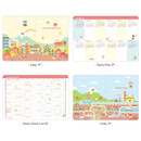 Planner section - Ardium 2020 Hello little coco dated monthly diary planner
