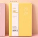 Yellow wasabi - Ardium 2020 Basic dated weekly diary planner