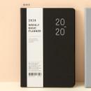 Black - Ardium 2020 Basic dated weekly diary planner