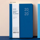 Navy peony - Ardium 2020 Basic dated weekly diary planner