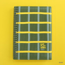Khaki - Romane 2020 Eat play work 365 dated daily diary planner