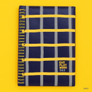 Navy - Romane 2020 Eat play work 365 dated daily diary planner