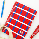 Red - Romane 2020 Eat play work 365 dated daily diary planner