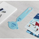 Blue - Gyou Girl and boy travel luggage name tag