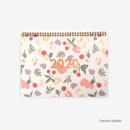 Cherries Jubiles - Dailylike 2020 Dual A4 dated monthly desk planner scheduler