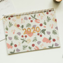 Dailylike 2020 Dual A4 dated monthly desk planner scheduler