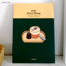 Peach jelly - Design Comma-B 2020 Sweet dessert dated weekly diary planner