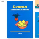 Lemon - Design Comma-B 2020 Retro mood dated monthly diary planner