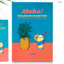 Aloha - Design Comma-B 2020 Retro mood dated monthly diary planner